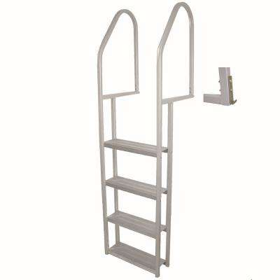 4-Step Aluminum Dock Ladder