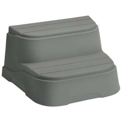Taupe Step for Rectangle and Square Hot Tubs