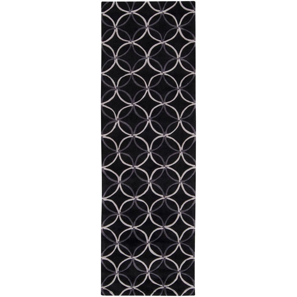 Artistic Weavers Cerbat Black 2 ft. 6 in. x 8 ft. Rug Runner