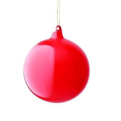 3 in. Red Bubble Gum Ornament