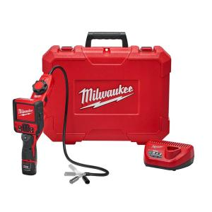 Milwaukee M12 12-Volt Lithium-Ion Cordless M-SPECTOR FLEX 3 ft. Inspection Camera Cable W/ Pivot View Kit... by Milwaukee
