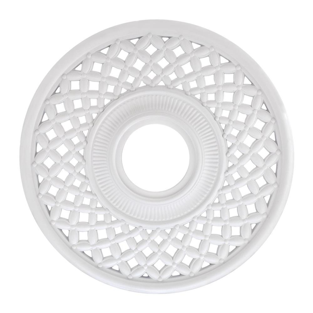 Westinghouse Botino 12 In White Ceiling Medallion