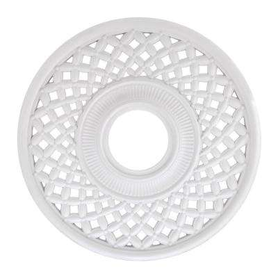 Botino 12 in. White Ceiling Medallion