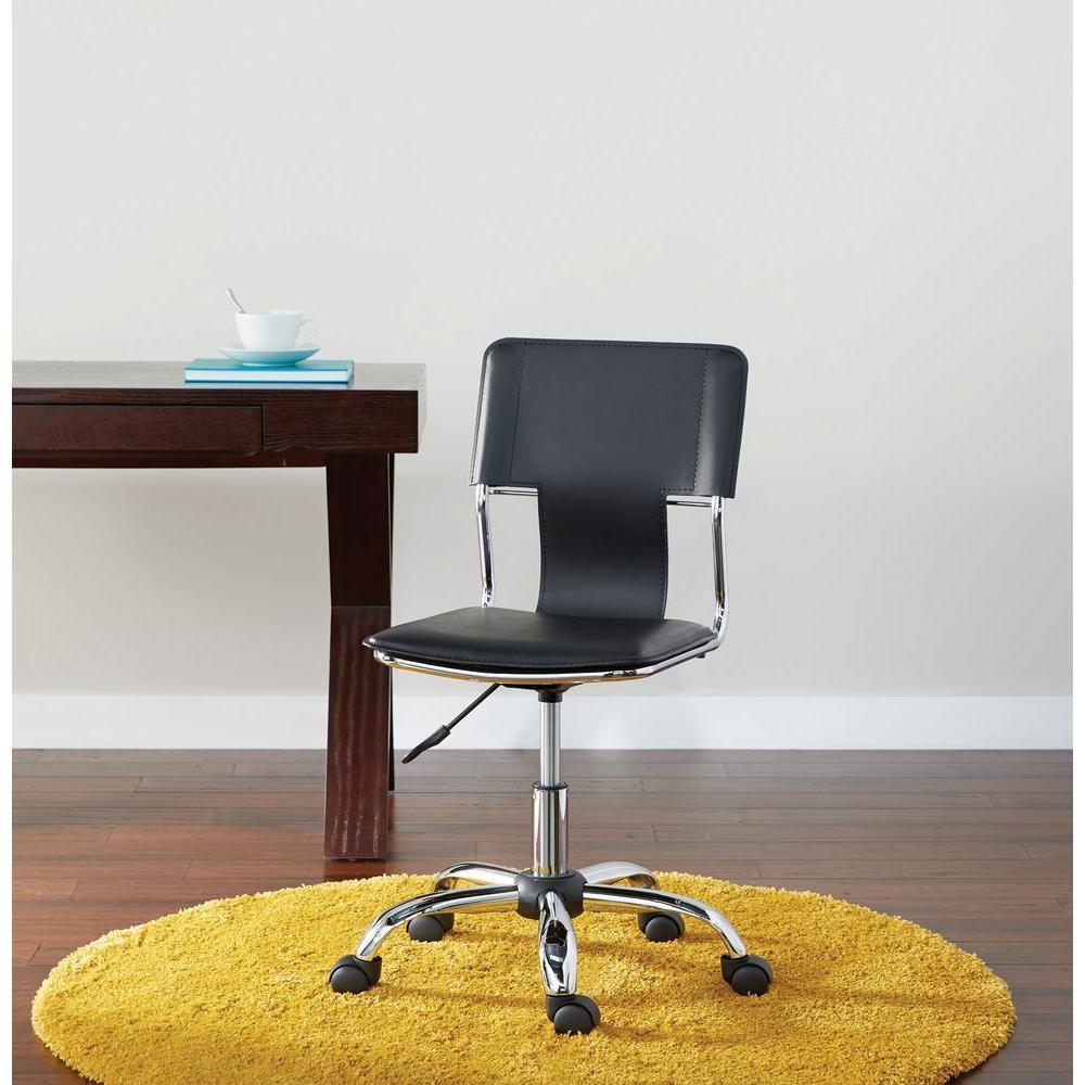 Carina Black Office Chair