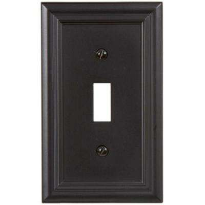 Continental 1 Toggle Wall Plate - Oil Rubbed Bronze
