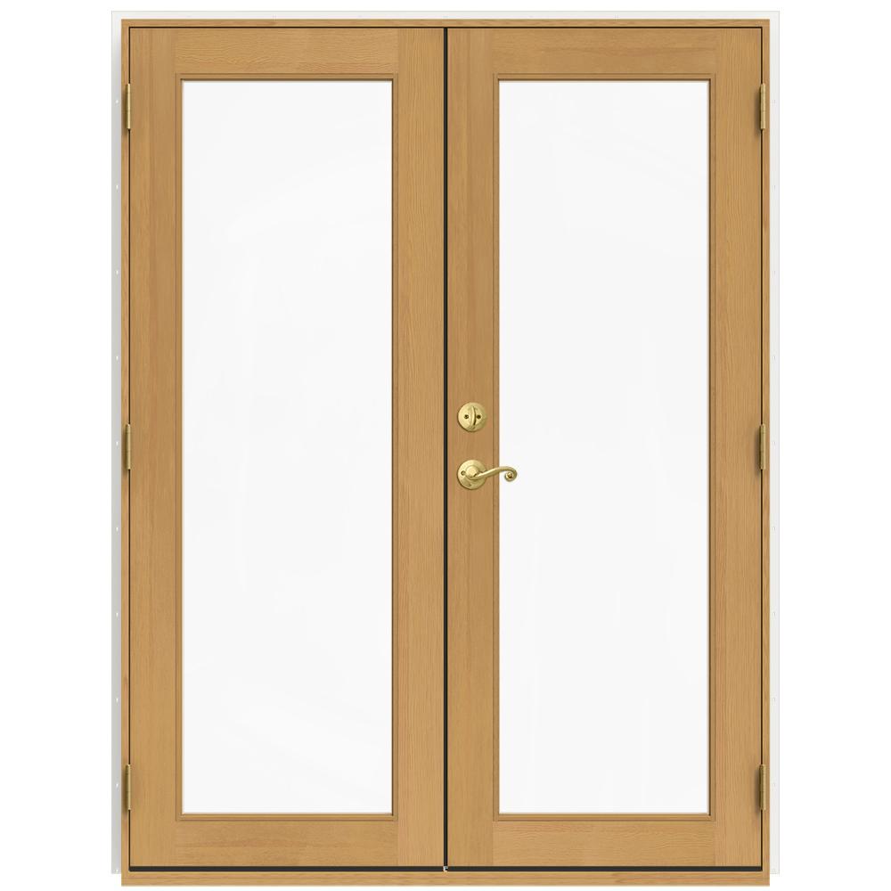 front left n door jeld wen w clad patio home the exterior b depot vanilla wood hand doors windows
