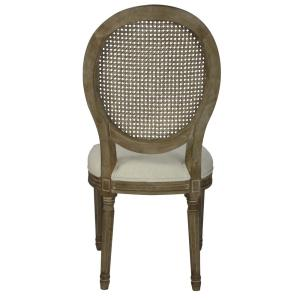 Fabulous Louis Beige Cane Dining Chair Set Of 2 Dwc 455Bg The Ncnpc Chair Design For Home Ncnpcorg