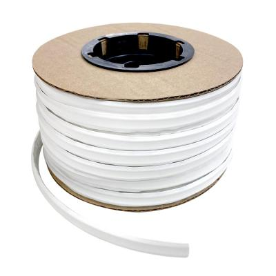 1/2 in. x 100 ft. White PVC Inside Corner Self-Adhesive Flexible Trim Molding