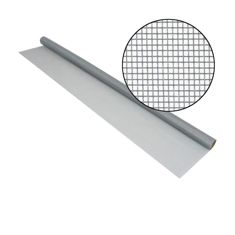 Phifer 60 in x 96 in silvergray fiberglass screen for Phifer screen reviews