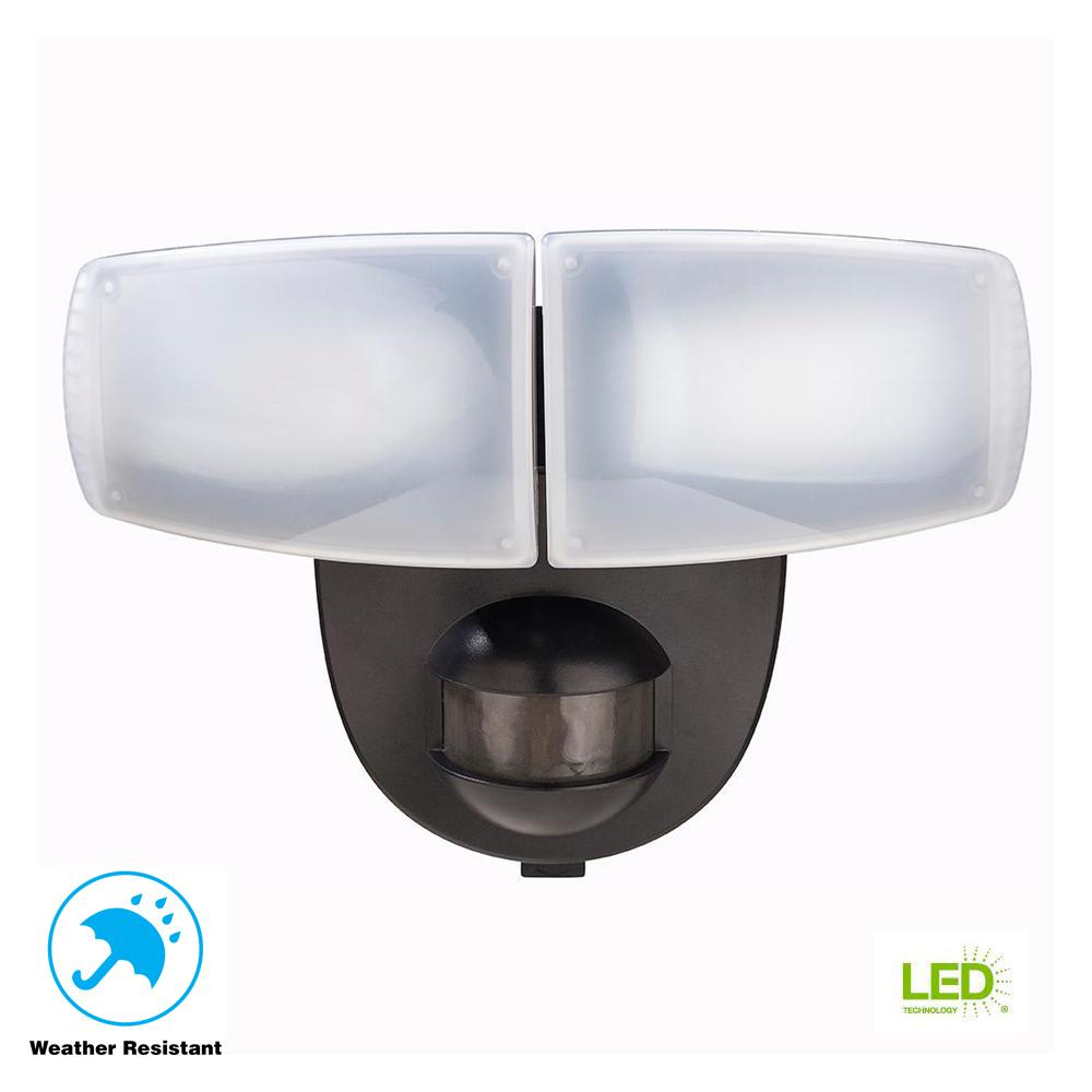 Install Wiring Motion Light Vel Great Installation Of Diagram An Exterior Pir Defiant 180 Degree Black Activated Outdoor Integrated Led Rh Homedepot Com Detector