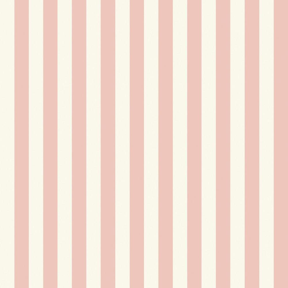 The Wallpaper Company 56 sq. ft. Pink Pastel Slender Stripe Wallpaper