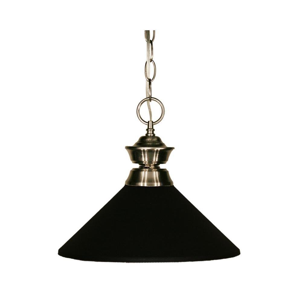 Tulen Lawrence 1-Light Pewter Incandescent Ceiling Pendant