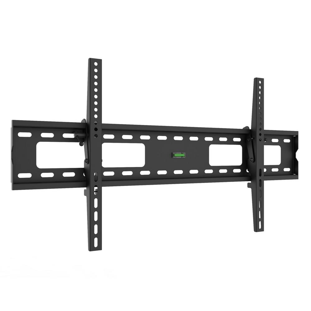 Promounts Extra Large Tilt Tv Wall Mount For 50 To 80 Inch Ft84 The Home Depot