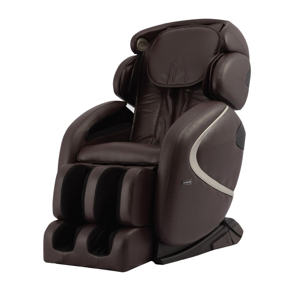 Titan TITAN Osaki Brown Faux Leather Reclining Massage Chair