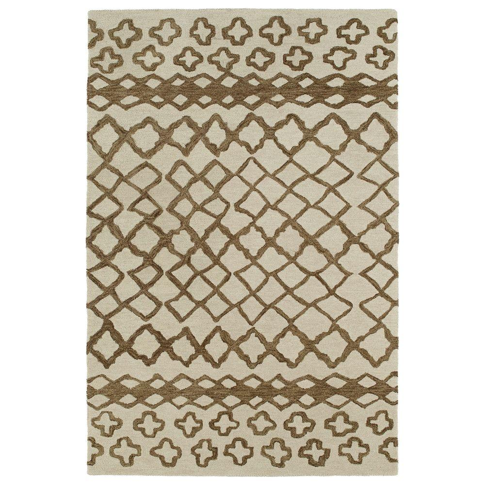 Casablanca Brown 2 ft. x 3 ft. Area Rug