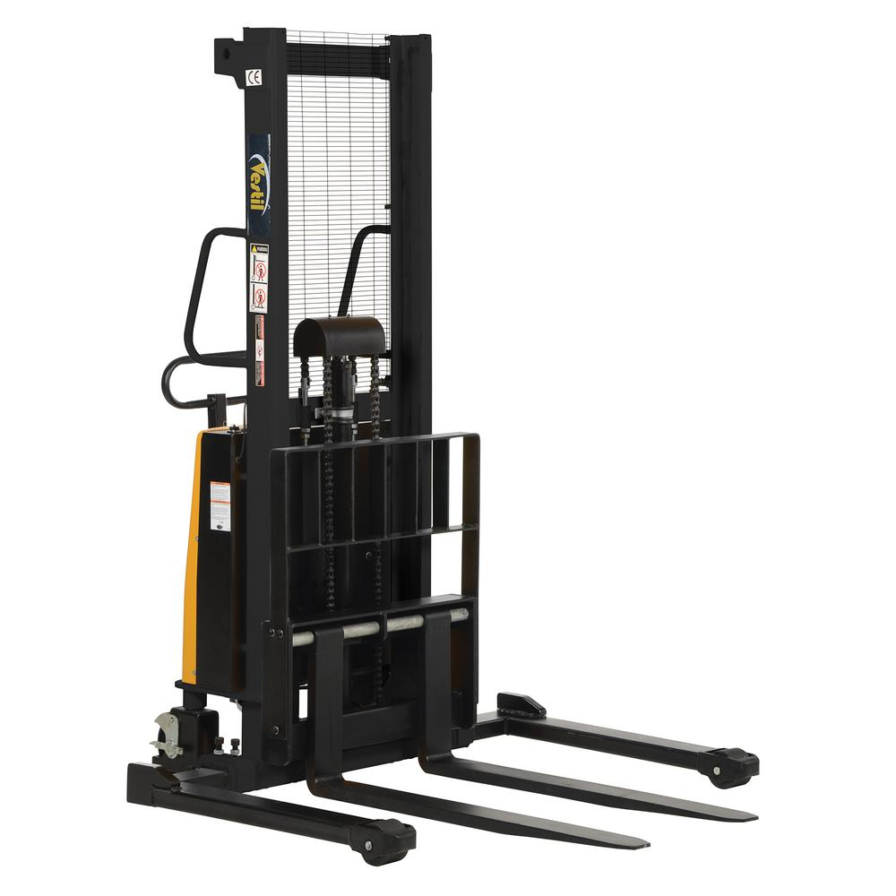 2,000 lb. Capacity 63 in. High Stacker with Powered Lift with