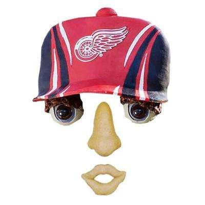 14 in. x 7 in. Forest Face Detroit Red Wings