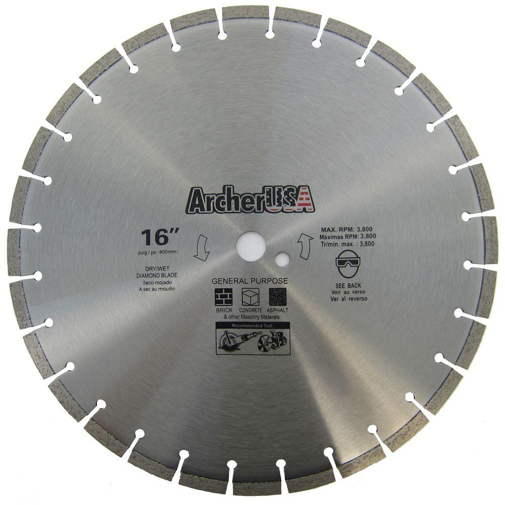 16 in. Diamond Blade for General Purpose
