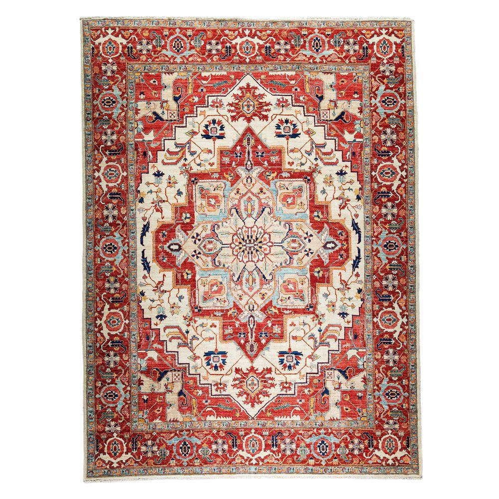 Oriental Rugs Grand Rapids: Darya Rugs Ziegler Red 9 Ft. X 12 Ft. Indoor Area Rug