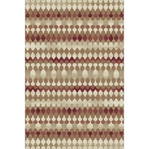 Dynamic Rugs Melody Red/Beige 2 ft. x 3 ft. 7 inch Indoor Accent Rug by Dynamic Rugs