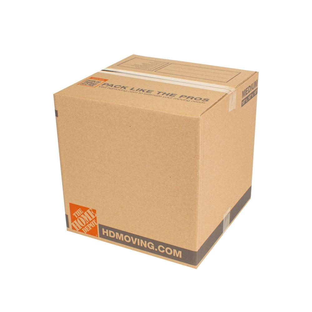 16 in. L x 16 in. W x 16 in. D Standard Moving Box (15-Pack)