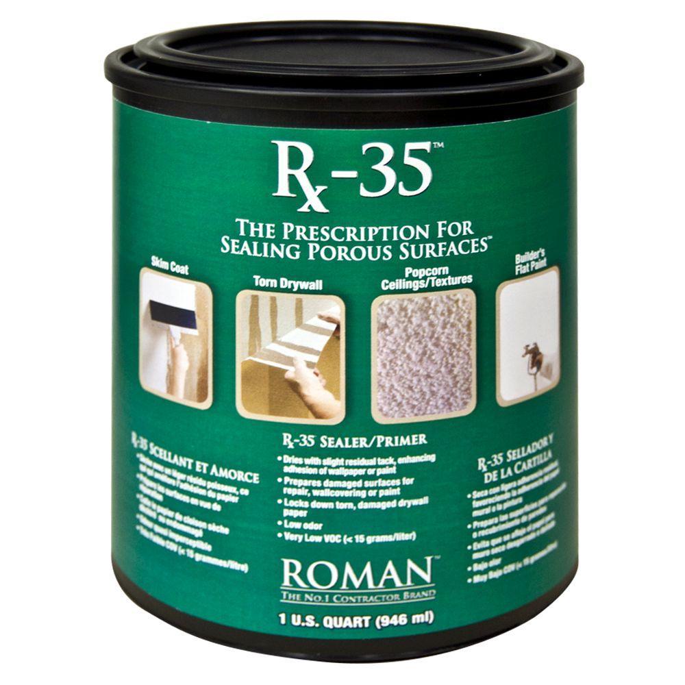 ROMAN Rx-35 1 qt. Drywall Repair and Sealer Primer