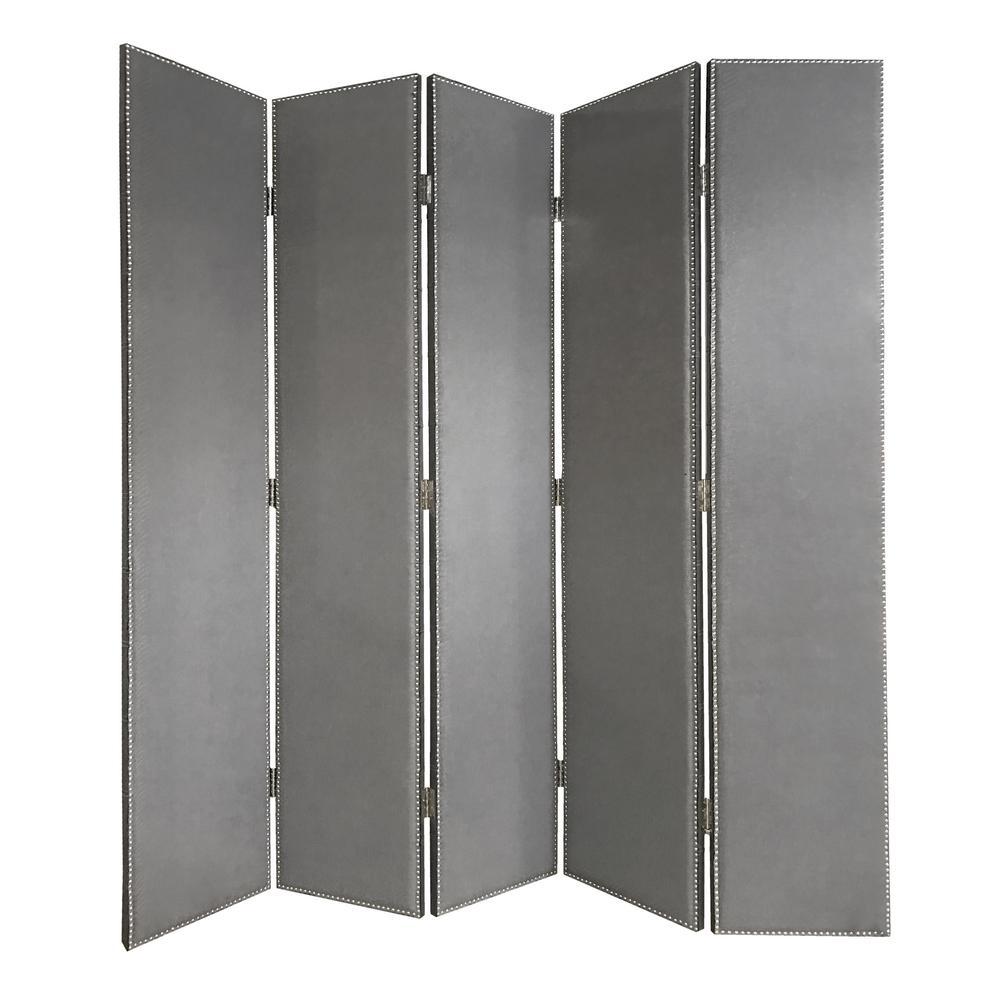 Panel Room Divider Grey