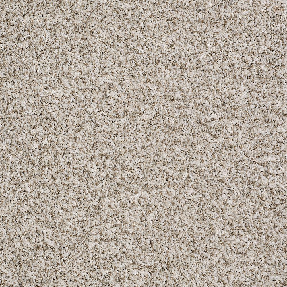 Leading Edge - Color Seashell Texture 12 ft. Carpet