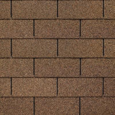Royal Sovereign Golden Cedar Algae Resistant 3-Tab Roofing Shingles (33.33 sq. ft. per. Bundle) (26-pieces)