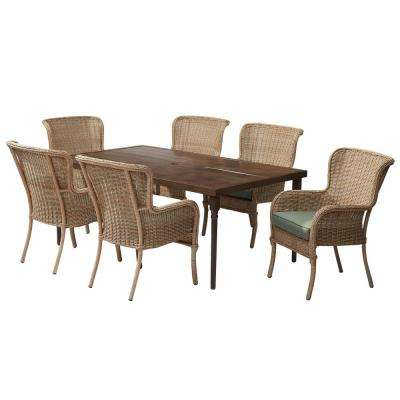 Hampton Bay Steel Metal Patio Furniture Patio Dining Sets