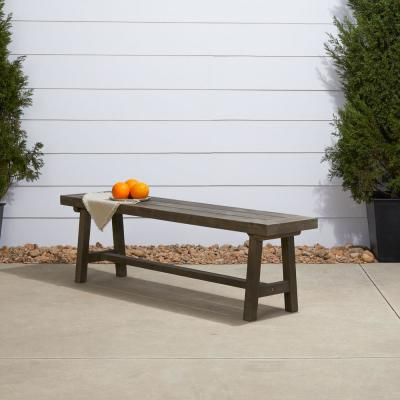 Renaissance 3-Person Wood Outdoor Bench