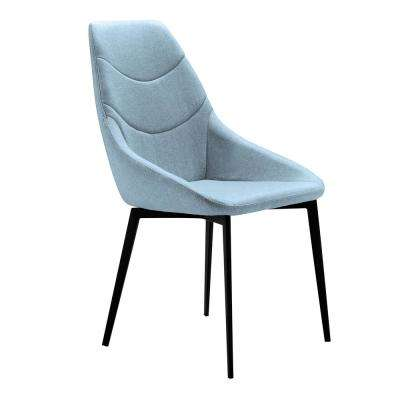 Castle Blue Fabric Dining Chair - Set of 2