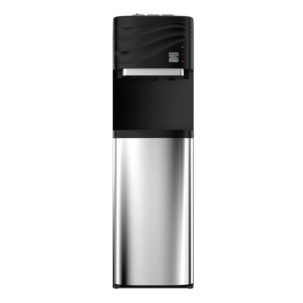 Kenmore Water Cooler Dispenser - Freestanding Botteleless Water Cooler Multi Stage Water Filter Dispenser