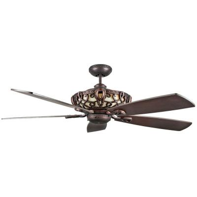60 in. Indoor Oil Rubbed Bronze Ceiling Fan