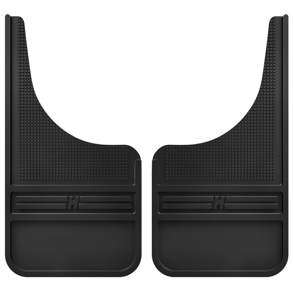 Husky Liners 55000 Black Universal Front Mud Flap Without Weight 1 Pack