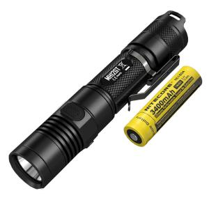 NITECORE Multitask Hybrid Series MH12GT 1000 Lumens LED Rechargeable Flashlight by NITECORE
