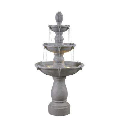 Plantation Resin Outdoor Floor Fountain