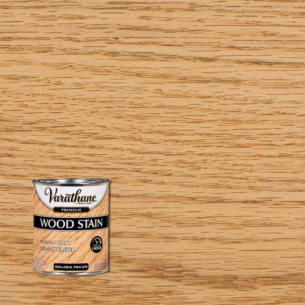 Varathane 1 qt. Golden Pecan Premium Fast Dry Interior Wood Stain