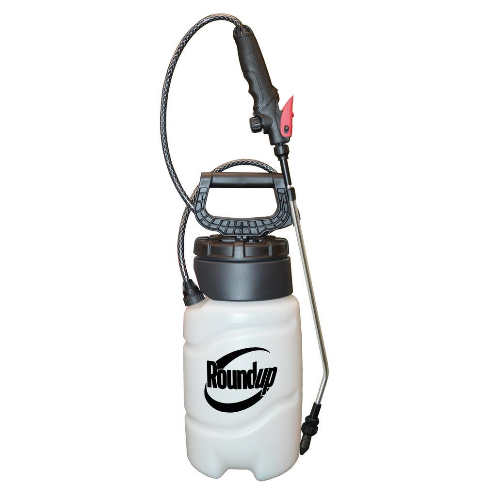 Roundup 1 Gal Ez Pump Sprayer 190500 The Home Depot