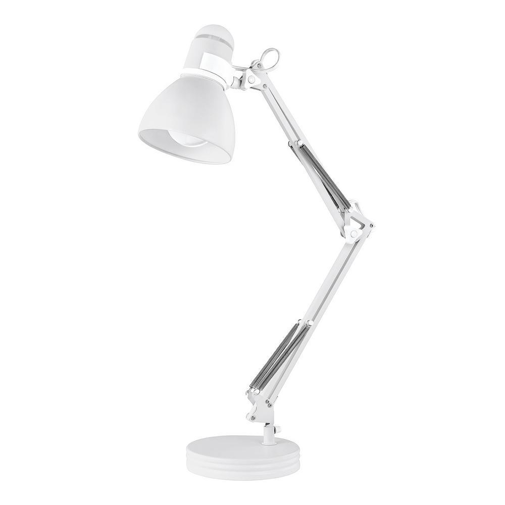 Globe Electric Architect 28 in. Matte White Desk Lamp
