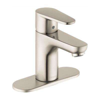 Talis E2 Single Hole 1-Handle Bathroom Faucet in Brushed Nickel