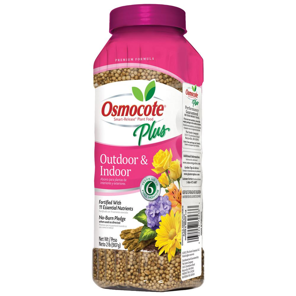 Osmocote Smart-Release 2 lb. Plant Food Plus Outdoor and Indoor