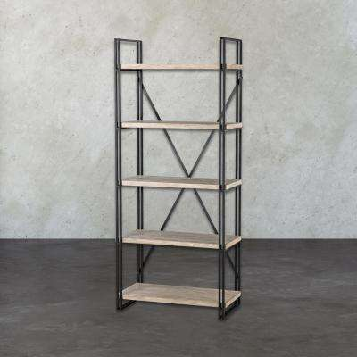 Gustave Natural Open Bookcase