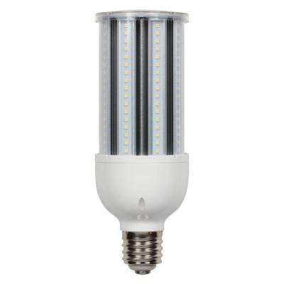 300-Watt Equivalent Daylight T28 Corn Cob Mogul Base LED Light Bulb