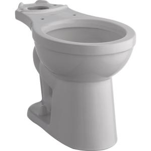 Delta Foundations Round Front Toilet Bowl Only in White by Delta