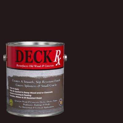 Deck Rx 1 gal. Mahogany Wood and Concrete Exterior Resurfacer
