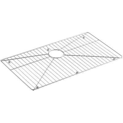 Vault Stainless Steel Bottom Sink Bowl Rack