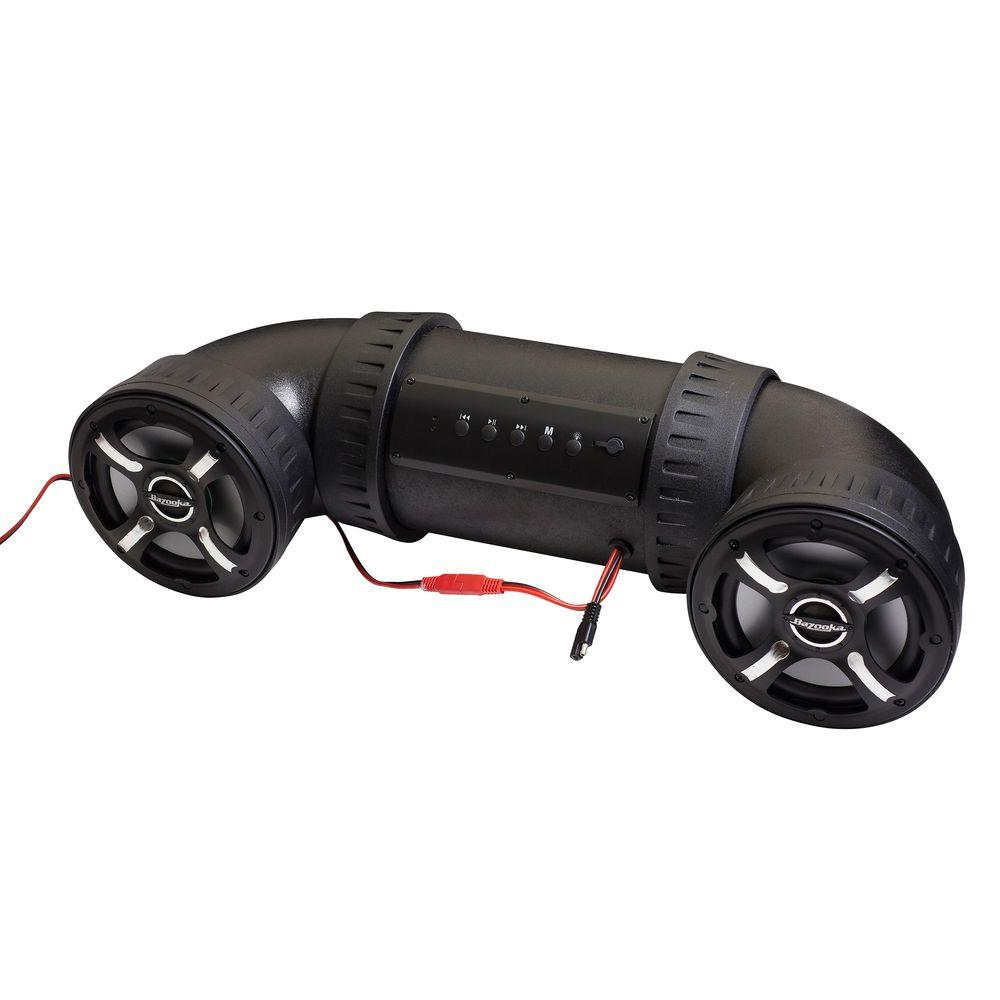 Bazooka 6 in. ATV-Tube Off Road Bluetooth Speaker System