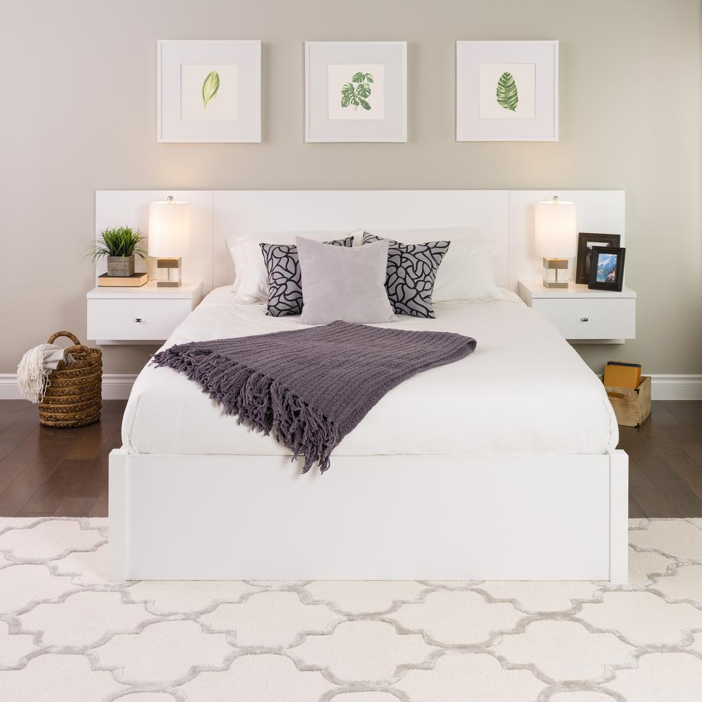 images for fresh clean white headboard queen