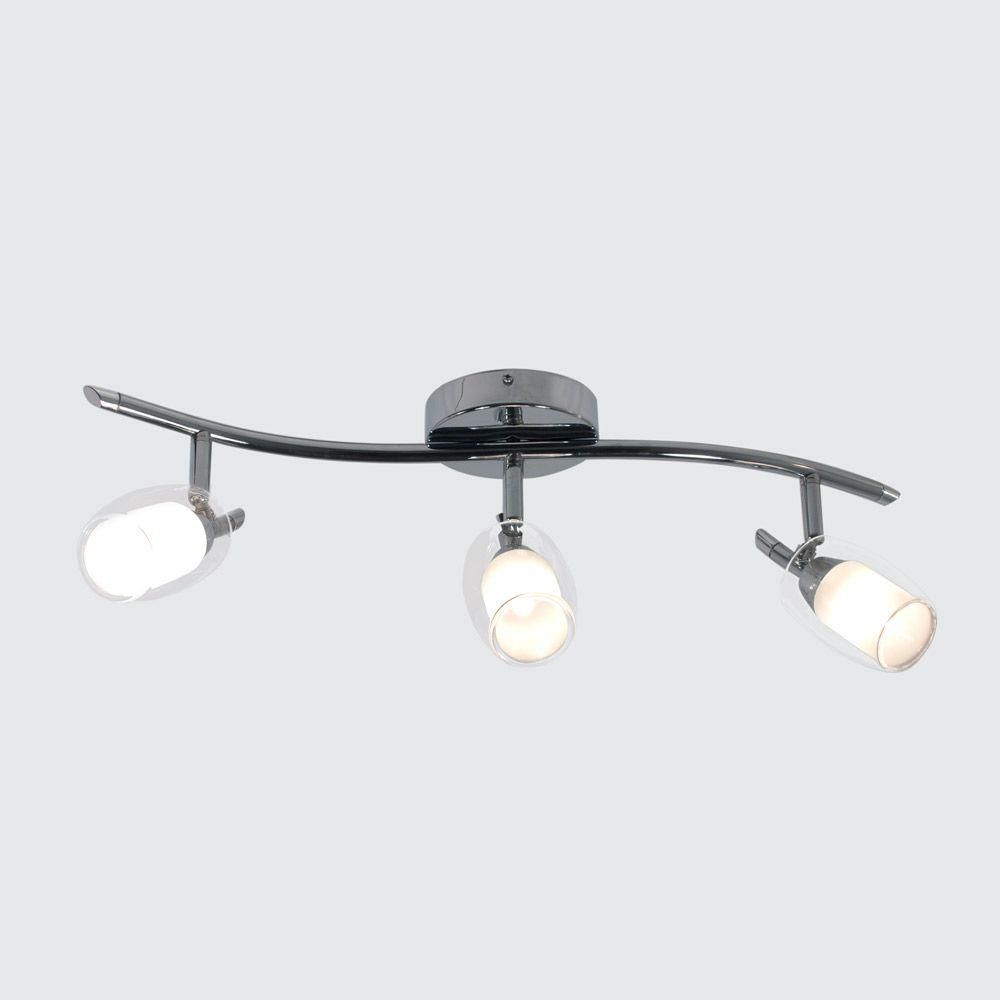 BAZZ Accent Chrome Plate Track Lighting Fixture